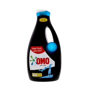 Omo Automatic Concentrated Gel Black 2.7Litre