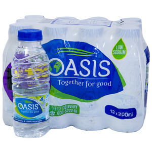 Oasis Drinking Water 200ml
