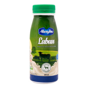 Al Wajba Laban Full Fat 200ml