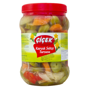 Cicek Mixed vegetable Pickle 700g