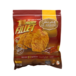 Al Areesh Zing Chicken Fillet Hot & Crispy 700g