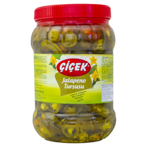 Cicek Hot Jalapeno Pickle 600g