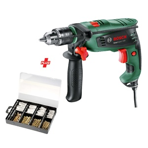 Bosch Impact Hammer Drill PSB540 550W + Fixing Accessories 173pcs