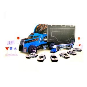 Zhong Ze Tian Qi Truck with Die Cast Car 95577-3