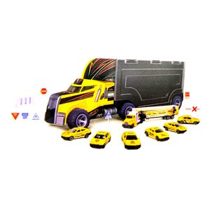 Zhong Ze Tian Qi Truck with Die Cast Car 95577-1