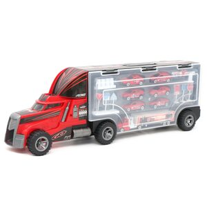 Zhong Ze Tian Qi Truck with Die Cast Car 95577-2