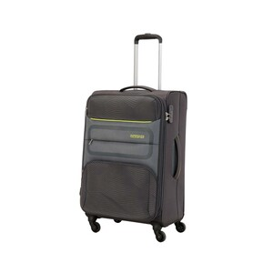 American Tourister Chelsea 4Wheel Soft Trolley 55cm Black