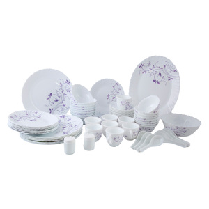 La Opala Dinner Set Dazzle Purple 60 Pcs Set Ladp60Pds8