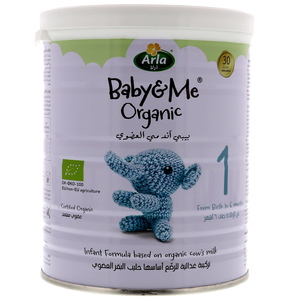 Arla Baby & Me Organic Infant Formula Stage 1 From Birth to 6 Months 400g