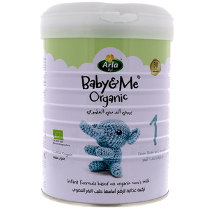 Arla Baby & Me Organic Infant Formula Stage 1 From Birth to 6 Months 800g