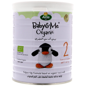 Arla Baby & Me Organic Follow-Up Formula Stage 2 From 6-12 Months 400g