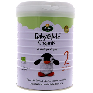 Arla Baby & Me Organic Follow-Up Formula Stage 2 From 6-12 Months 800g
