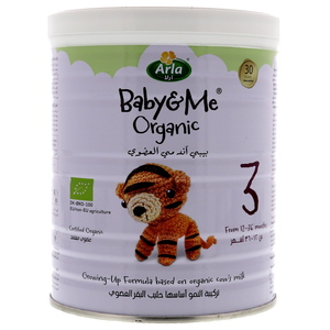 Arla Baby & Me Organic Growing-Up Formula Stage 3 From 12-36 Months 400g