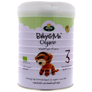 Arla Baby & Me Organic Growing-Up Formula Stage 3 From 12-36 Months 800g