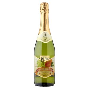 White Pearl Sparkling Juice Drink White Grape & Peach 750ml