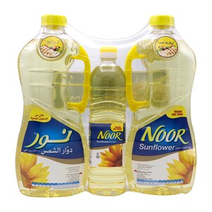 Noor Sunflower Oil 2 x 1.5Litre + 750ml