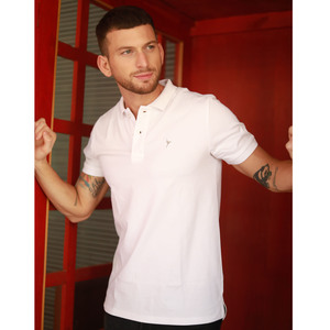 Eten Men's Basic Polo S/S 20 White