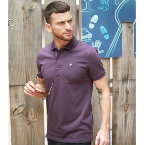 Eten Men's Basic Polo S/S 20 Purple
