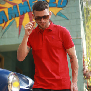 Eten Men's Basic Polo S/S 20 Red