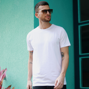 Eten Men's Basic Tees Crew Neck S/S 20 White