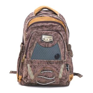 Super Baby Canvas Backpack HL878 18''