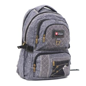Super Baby Canvas Backpack HL873 18''