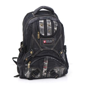 Super Baby Canvas Backpack HL866 18''