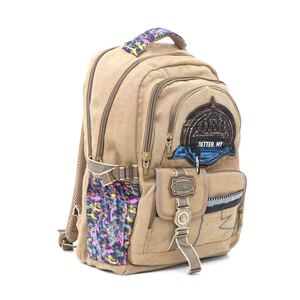 Super Baby Canvas Backpack HL862 18''