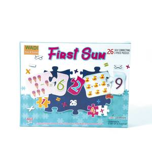 Ankit Early Learner First Sum 26 Self Correcting 2-Piece Puzzles