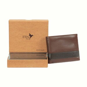 Eten Men's Leathere Wallet ETCWL-10 Tan