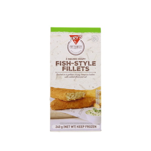 Fry's  Frozen Fish Fillet 240g