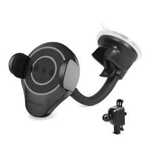 Promate Ultra-Fast Wireless Car Charging Mount Alpha