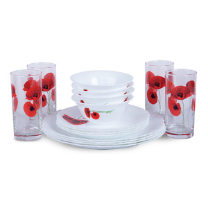 ARC Dinner Set 16pcs Assorted Color & Desgins Q1200/Q1201