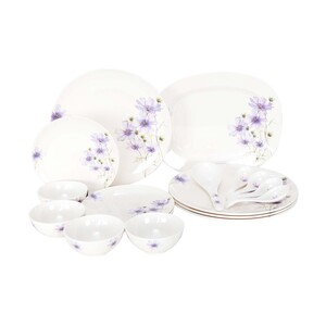 Lulu Dinner Set 18pcs MAIDEN PURPLE