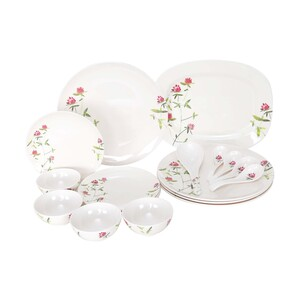 Lulu Dinner Set 18pcs TELEFLORA