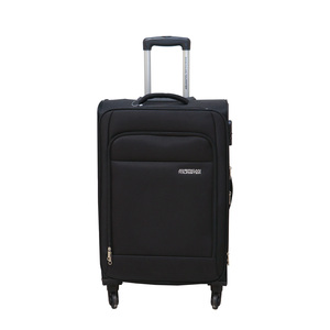 American Tourister  Oakland 4Wheel Soft Trolley 55cm Black