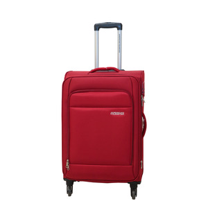 American Tourister Oakland 4Wheel Soft Trolley 68cm Red