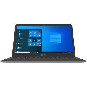 Zed Air-14inch HD Screen,Ultrabook Laptop, Intel Celeron Upto 2.2 Ghz., 4GB RAM, 128GB eMMC, Camera , Windows 10� Silver