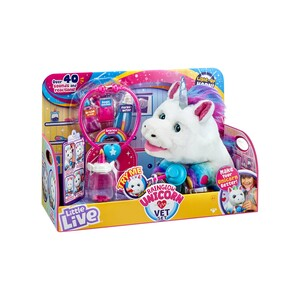 Little Live Pets Rainglow Unicorn Vet Set 28863
