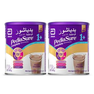 Pediasure Complete And Balanced Nutrition Chocolate Powder 1+ 1-3 Years 2 x 400g