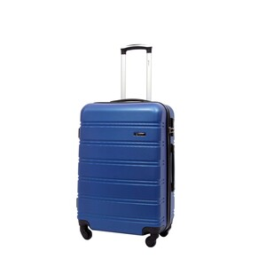 Wagon R ABS 4Wheel Hard Trolley 610 20inch Assorted Colors