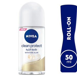 Nivea Roll On Antiperspirant for Women Clean Protect 50ml