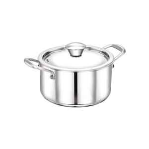 Chefline Stainless Steel Tri-Ply Dutch Oven INDRI 24cm