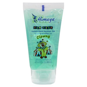 Himaya Instant Hand Sanitizer Gel Fun Club Clowny 50ml