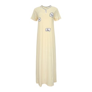 Eten Women's Night Gown Short Sleeve DJ-840
