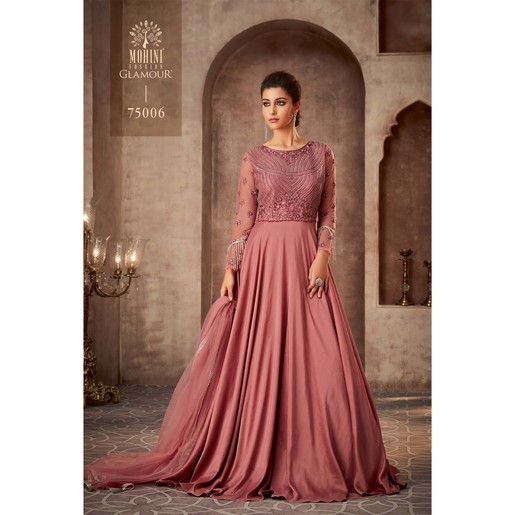 Mohini Ready To Stitch Women's Gown Material 75006