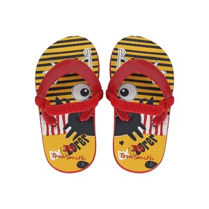 Tom Smith Baby Slipper 70586 Red-Yellow 22-27