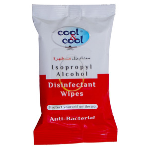 Cool And Cool Anti Bacterial Disinfectant Wipes 10pcs