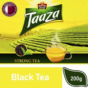 Brooke Bond Taaza Black Strong Tea 200g