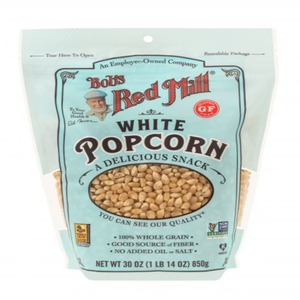 Bob's Red Mill White Popcorn Gluten Free 850g
